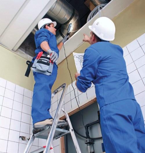 монтаж вентиляция воздуха 5